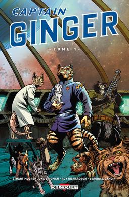 Captain Ginger: Des chats dans l'espace