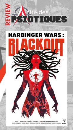 Review LADP : Harbinger Wars : Blackout