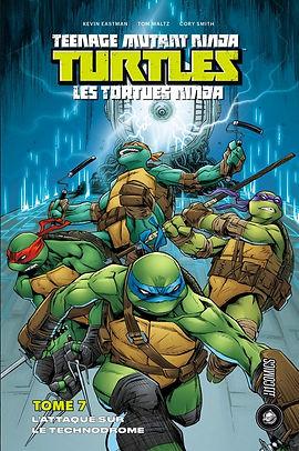 TMNT Tome 7 Hi Comics Indées les bulles comics