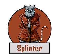 Splinter TMNT Indées les bulles comics