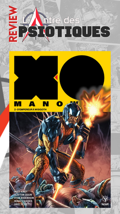 Review LADP : X-O Manowar Tome 2