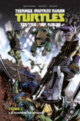 TMNT Tome 1 Hi Comics Indées les bulles comics