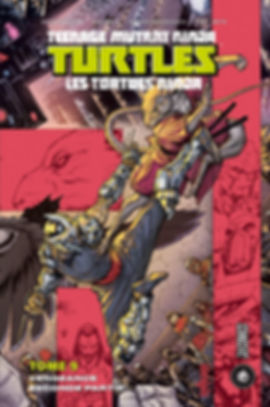 TMNT Tome 9 Hi Comics Indées les bulles comics