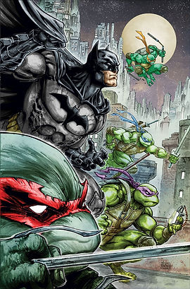 Batman vs TMNT Urban Comics Indées les bulles comics