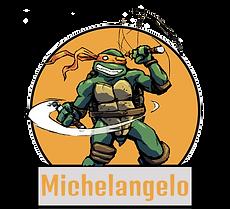 Michelangelo TMNT Indées les bulles comics
