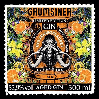 Aged Grumsiner Gin fassgelagert 0,5l -limitiert