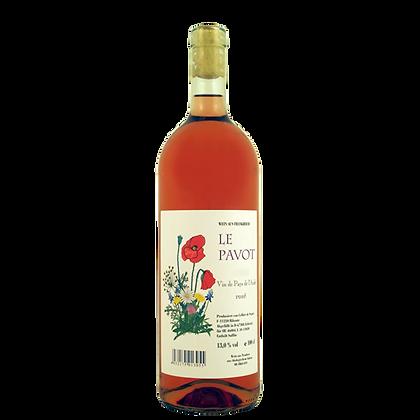 2017 Le Pavot Rosé  1,00l