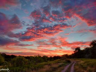 A Texas Size Sunrise