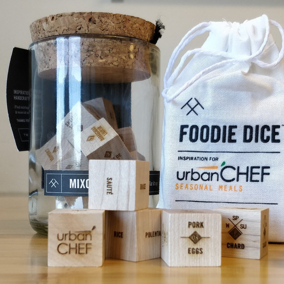 urbanCHEF Foodie Dice