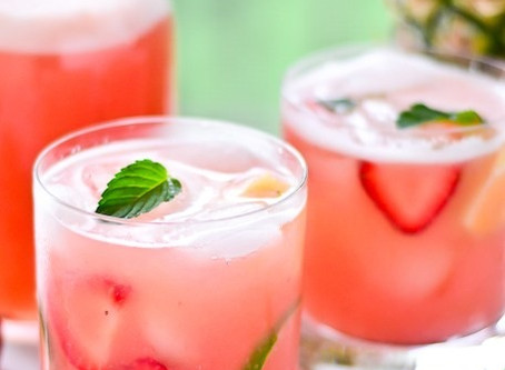 Strawberry Pineapple Nojito