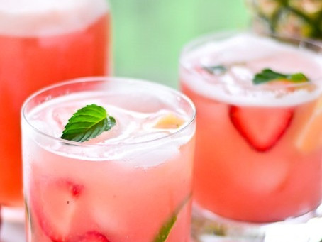 Strawberry Pineapple Nojito
