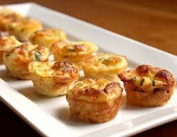 Mini Caramelized Onion Quiches