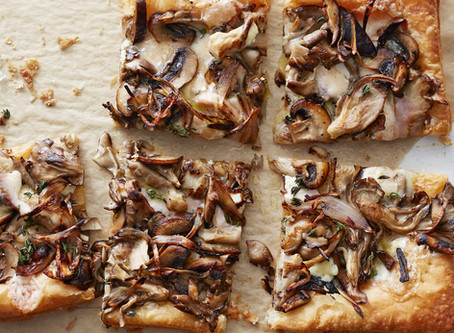 Exotic Mushroom Tart