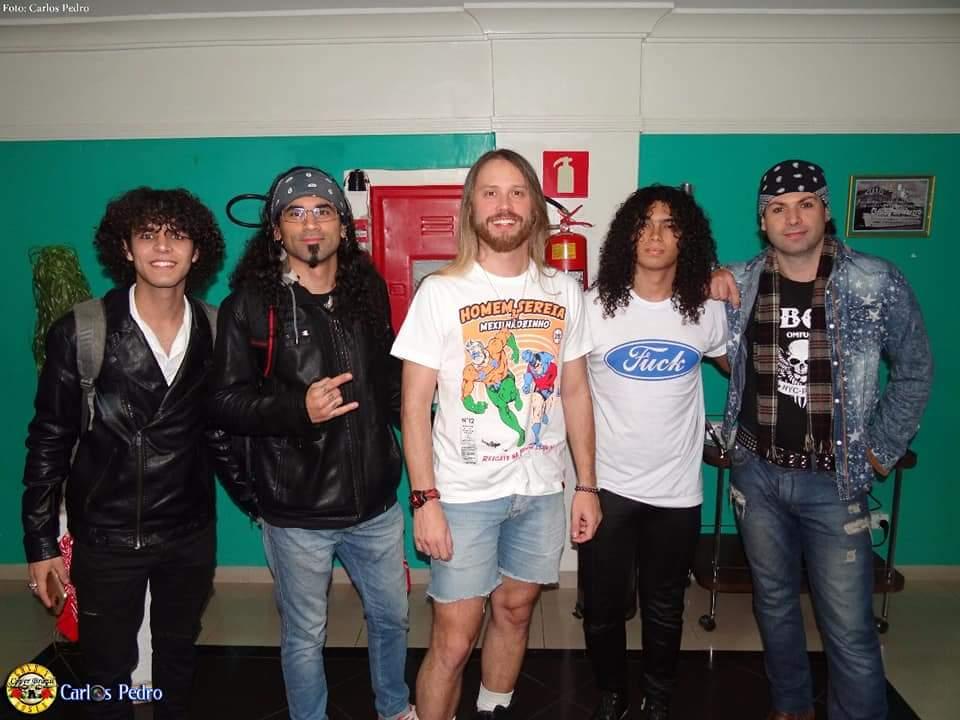 guns n roses cover brasil