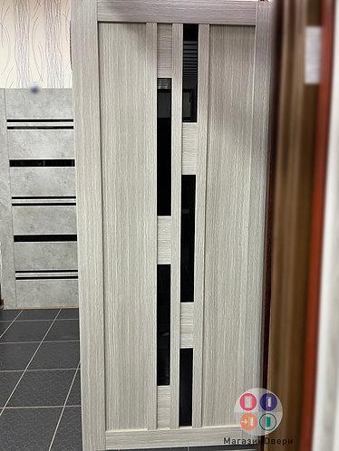 Турин 551.121 Дуб серый стекло лакобель