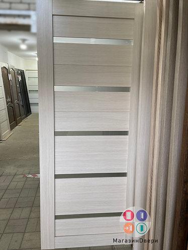 Q55 Лиственница бела стекло крем белое