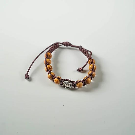 Cord Rosary Bracelet
