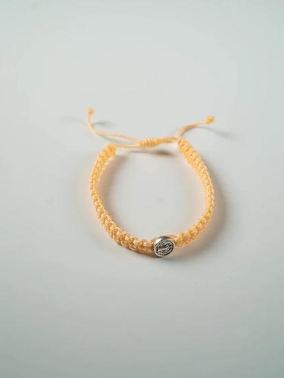 Yellow Benedictine Bracelet