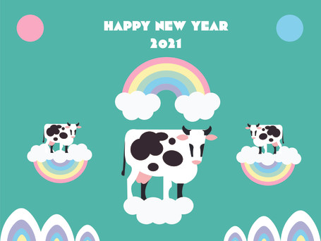 Happy New Year of the Cow