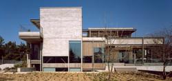 Steel frame residence