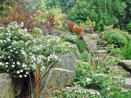 Hillside Boulder Garden - West Lancashire