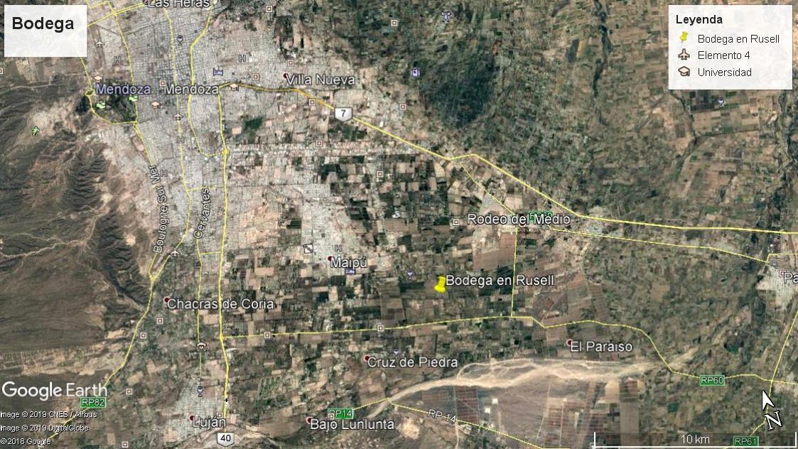 Russell - Maipú – Mendoza  - a 500mts de ruta provincial 60