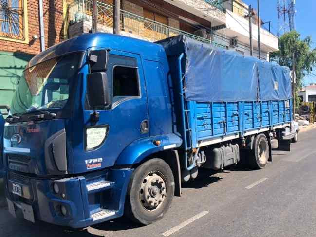 Ford Cargo 1722, año 2013