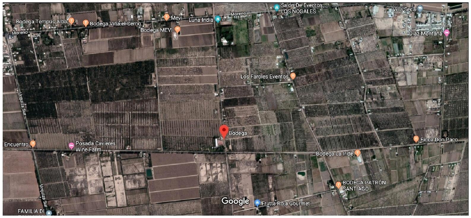 Ubicada en la primera zona vitivinícola de Mendoza. La calle esta prevista asfaltarla y ser el anillo de circunvalación que une acceso este de Mendoza con la ruta 60 de acceso a la ruta a Chile, evitando el centro de Mendoza.