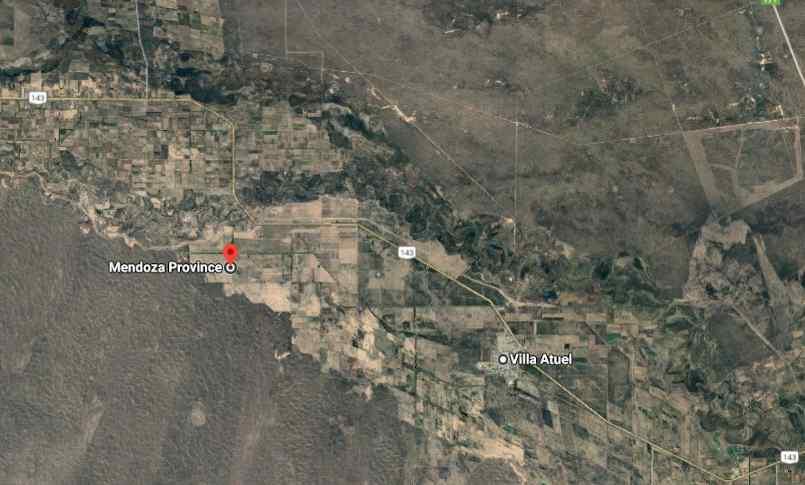 Villa Atuel está ubicada a 13,5 km