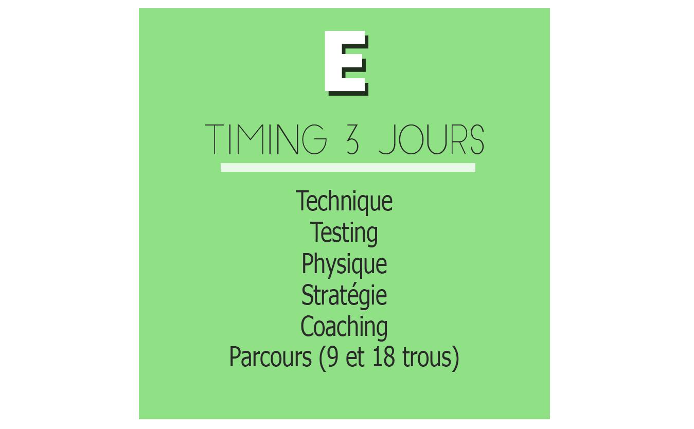 Programme E