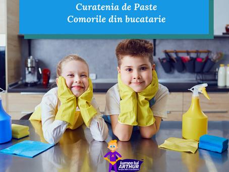 Curatenia de Paste cu copilul - Comorile din sertarul mamei