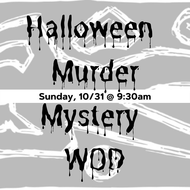 Halloween Murder Mystery Workout