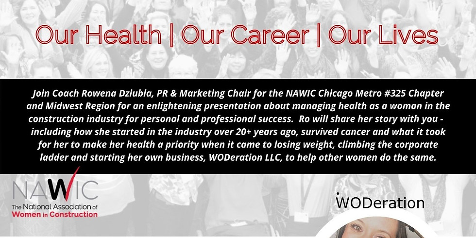 Safety & NJ Chapter - Health & Career Coaching for Women in the Construction Industry