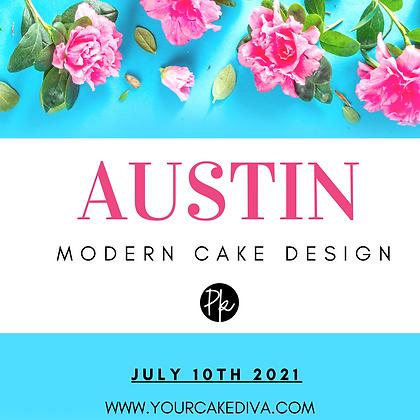 AUSTIN Modern Cake Design