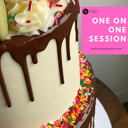 """Intermediate """"One on One"""" Cake Session"""