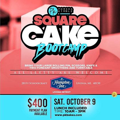 Square Cake Bootcamp