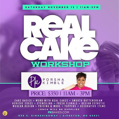 REAL CAKE WORKSHOP