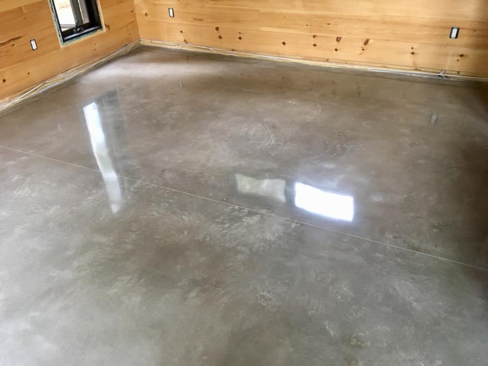 jos beton, plancher de beton poli