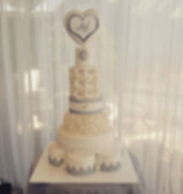 יפעת פרי דפנא,עוגות מעוצבות,עוגת חתונה