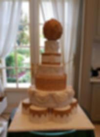 עוגות מעוצבות,יפעת פרי דפנא, עוגת יום הולדת מלכותית