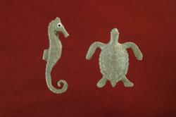 קישוטי סוכר-חיות ים