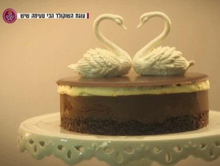 יפעת פרי דפנא,עוגות מעוצבות,עוגת שוקולד,הכי טעים שיש,יונתן רושפלד,חיים כהן
