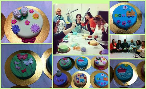 סדנת בצק סוכר,סדנת עיצוב עוגות ,סדנת עוגות מעוצבות