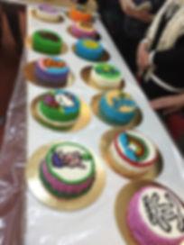 סדנאות לעיצוב עוגות,סדנאות בצק סוכר