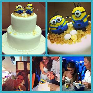 עוגות חתונה,קאפקייקס,עוגת חתונה מבצק סוכר,עוגות קומות מעוצבות
