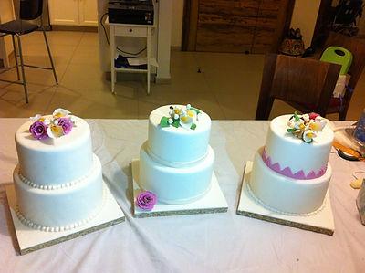 סדנת בצק סוכר,סדנת קומות ופרחים,סדנת עיצוב עוגות