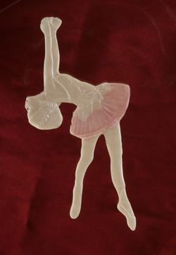 קישוטי סוכר-רקדנית