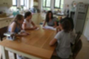 סדנת בישול ואפיה לילדים,סדנת בת מצווה,סדנאת בישול לנערות,