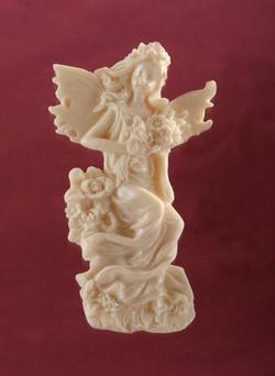 קישוטי סוכר-פיה עם פרחים 2