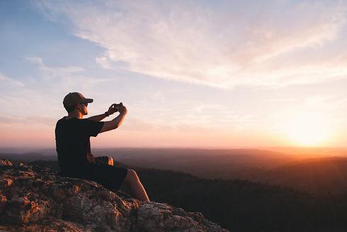 Photographe de coucher de soleil